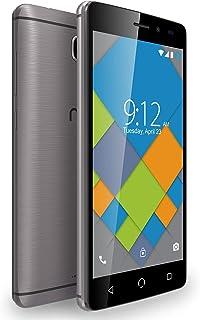 Nuu Mobile A4L Smart Phone, 4G LTE, 1 GB, 16 GB - Grey
