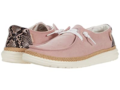 Hey Dude Wendy Python (Pink) Women