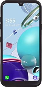 Net10 LG K31 Rebel 4G LTE Prepaid Smartphone (Locked) - Black - 32GB - Sim Card Included - CDMA