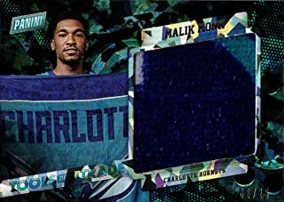 2017 Panini Black Friday Relics #TT-MM Malik Monk Event Used Towel from Rookie Season - Only 25 made!