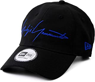 [ヨウジヤマモト × ニューエラ] Yohji yamamoto × NEW ERA コラボ キャップ ウール コットン 帽子 SS19 ロゴ ショップバッグ付き