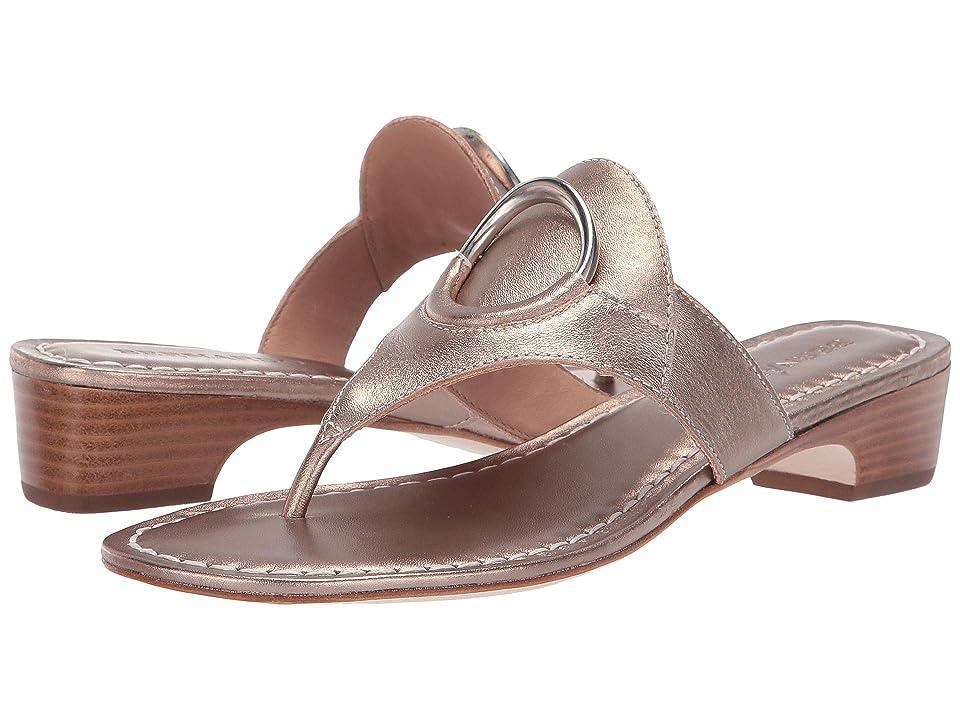 bc380528a5e8 Bernardo Gail Sandal (Platinum Antique Calf) Women s Sandals