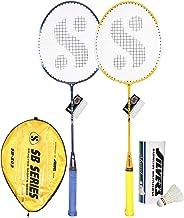 Silver's Unisex Adult SB-503 Badminton Racquet Combo - multicolour, G3
