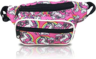 Nineteen80something Fanny Pack For Children/Kids Size Waist Bag/For Boys, Girls, Toddlers And Babies (Unicorn Pink)