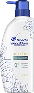 Head & Shoulders Purify & Volume Shampoo 550ml, 1 count