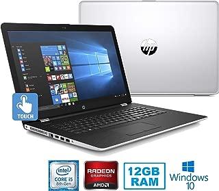 HP Premium High Performance 17.3in Touchscreen HD+ SVA (1600 x 900) Laptop~8th Gen Intel i5-8250U~12GB RAM~1TB HDD~Radeon 2GB~Wifi~Backlit~DVD-DW~Bluetooth-Win10(Renewed)