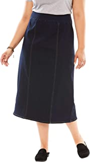 Best a line plus size denim skirt Reviews