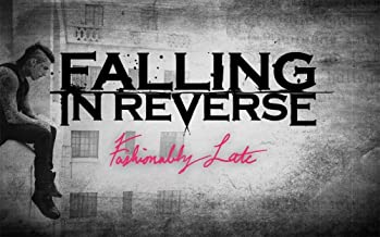 """NewBrightBase Falling in Reverse Fabric Cloth Rolled Wall Poster Print - Size: (40"""" x 24"""" / 21"""" x 13"""")"""