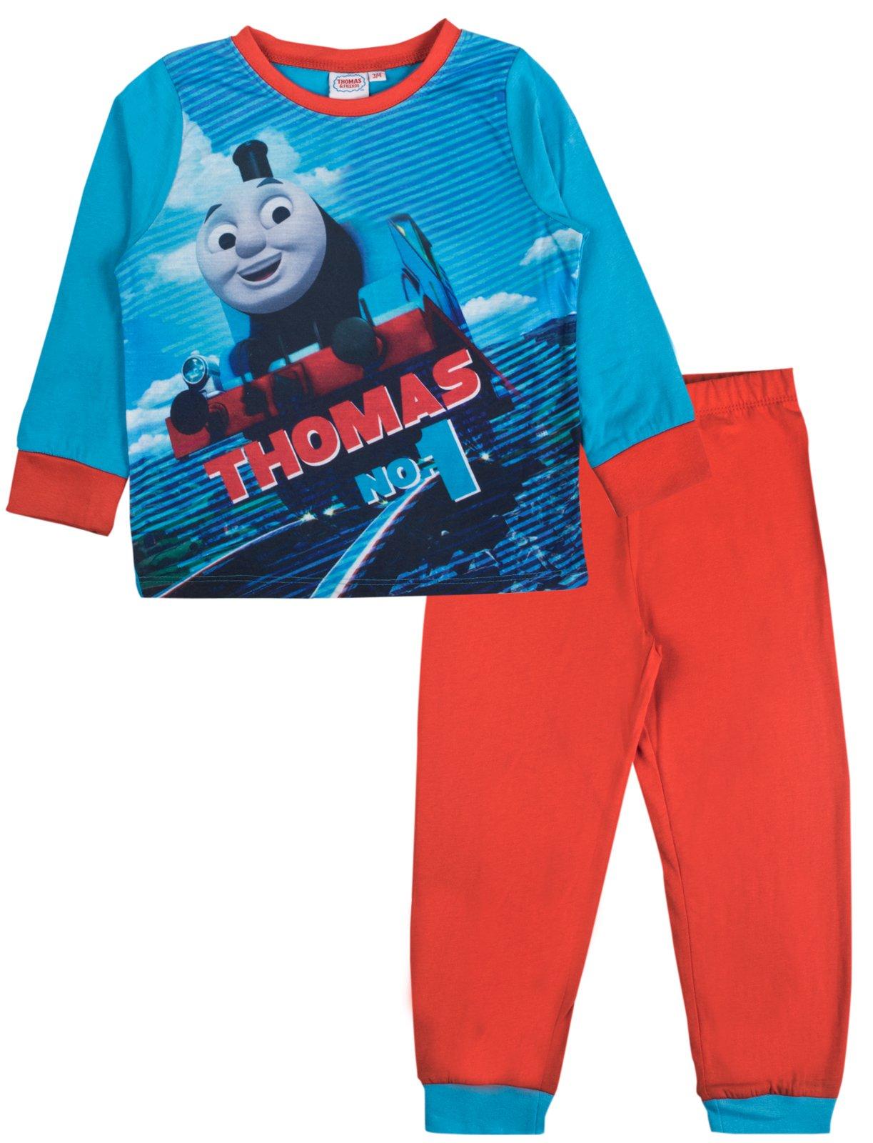 Boys Thomas  Pyjamas PJs Night Wear Sleepwear Flat Packed