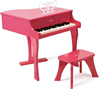 Hape Happy Grand Piano in Pink Toddler Wooden Musical Instrument