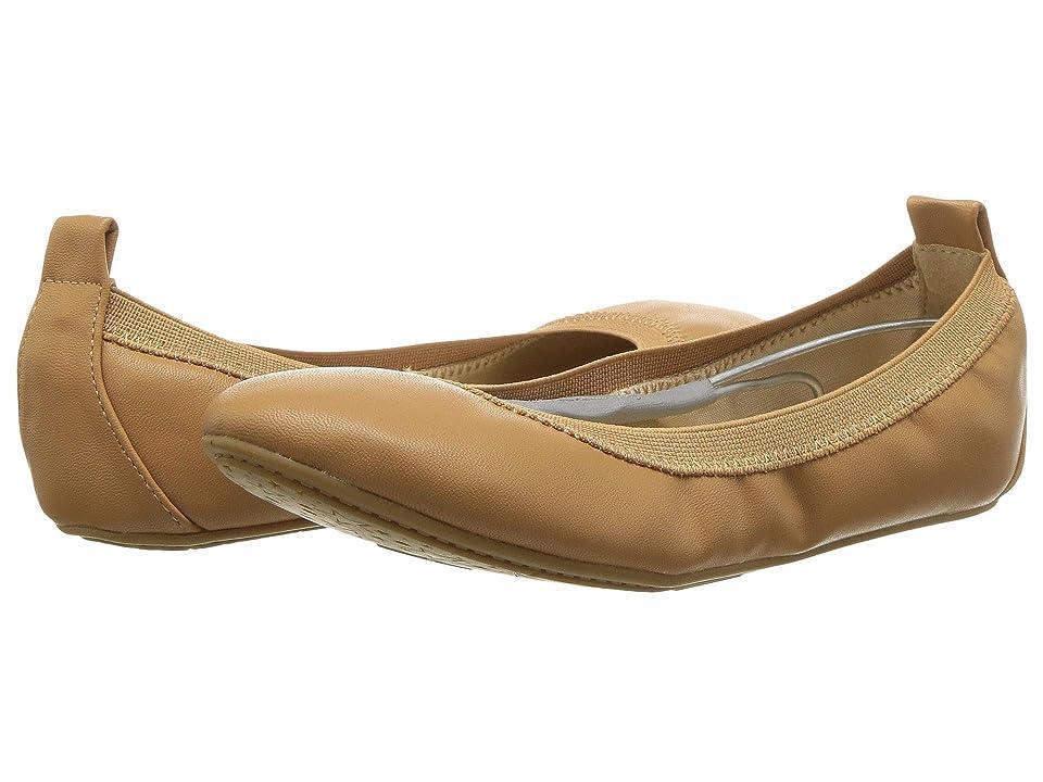 Yosi Samra Kids Miss Samara Nappa Ballet Flat (Toddler/Little Kid/Big Kid) (Whiskey Nappa PU) Girls Shoes