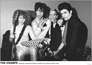 The Cramps Camden 1980 Music Album Rock Roll Vintage Cool Wall Decor Art Print Poster 33x23.5