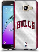 Head Case Designs Oficial NBA Jersey Chicago Bulls Carcasa de Gel de Silicona Compatible con Samsung Galaxy A3 (2016)