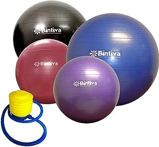 bintiva Anti-Burst Fitness Exercise Stability Yoga Ball