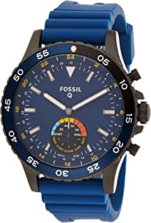Fossil Mens Quartz Watch, Analog Display and Silicone Strap FTW1125