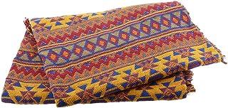 Baosity Sofa Cover Day Bed Throw, Jacquard Blanket Settee Throws, 130x180cm Picnics Rug - Western, 130x180cm