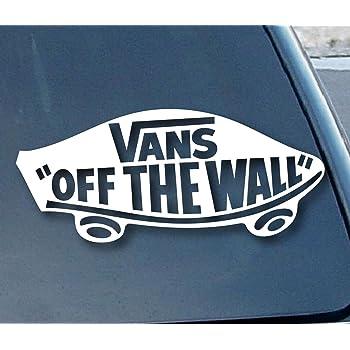Aufkleber Vans Off the Wall Car Window Vinyl Decal Sticker
