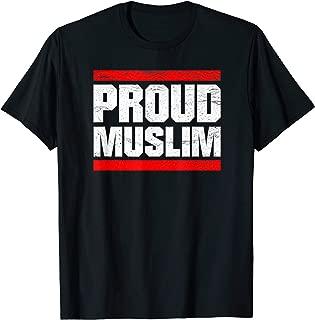 Proud Muslim Muslima Arabic Culture Quran Sura Islam T-Shirt