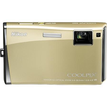Nikon デジタルカメラ COOLPIX (クールピクス) S60 リッチゴールド COOLPIXS60GL