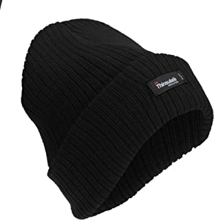 Womens/Ladies Plain Thinsulate Thermal Ribbed Winter Hat (3M 40g)
