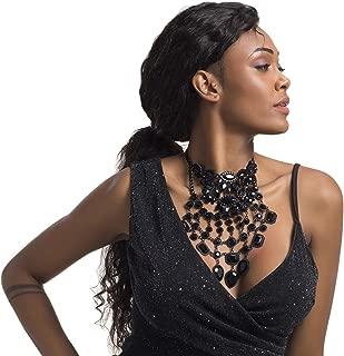 Best big black necklace Reviews