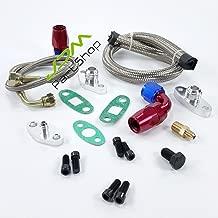 Turbo Turbine Turbocharger Oil Line Kits Feed Line + Return Line kits For toyota supra 1JZ/2JZ 2JZ-GTE Turbo Turbine Turbocharger Rebuild Kit Repair Kit