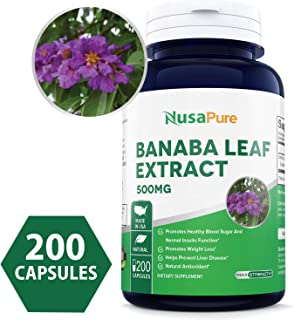 Best banaba leaf extract dosage Reviews