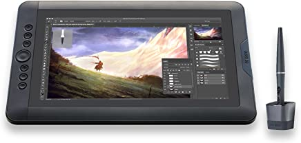 """Mesa gráfica 13.3""""com tela LCD de alta resoluçao Drawing Tablet com suporte Freestyle"""