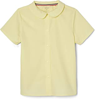 Girls' Short Sleeve Peter Pan Collar Blouse