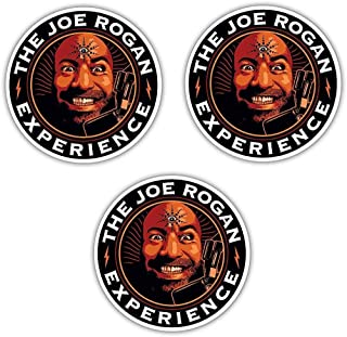 Joe Rogan Experience Decal Sticker Podcast Set of 3 (Three)