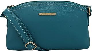 Lapis O Lupo Light Women Sling Bag (Turquoise) Multi-functional pocket design