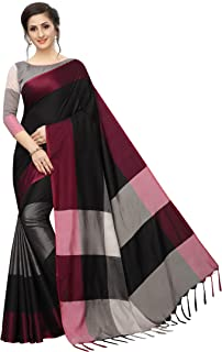 PERFECTBLUE Women's Silk Saree With Blouse Piece