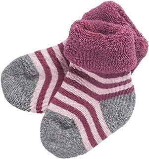 Toddler Enfants Filles Coton Animal solide couleur doux Hautes Chaussettes Bas