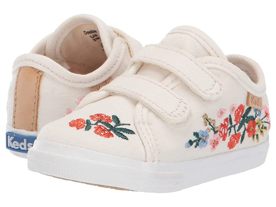 Keds x Rifle Paper Co. Kids Rifle Paper Double Up HL Crib (Infant/Toddler) (Vines) Girls Shoes