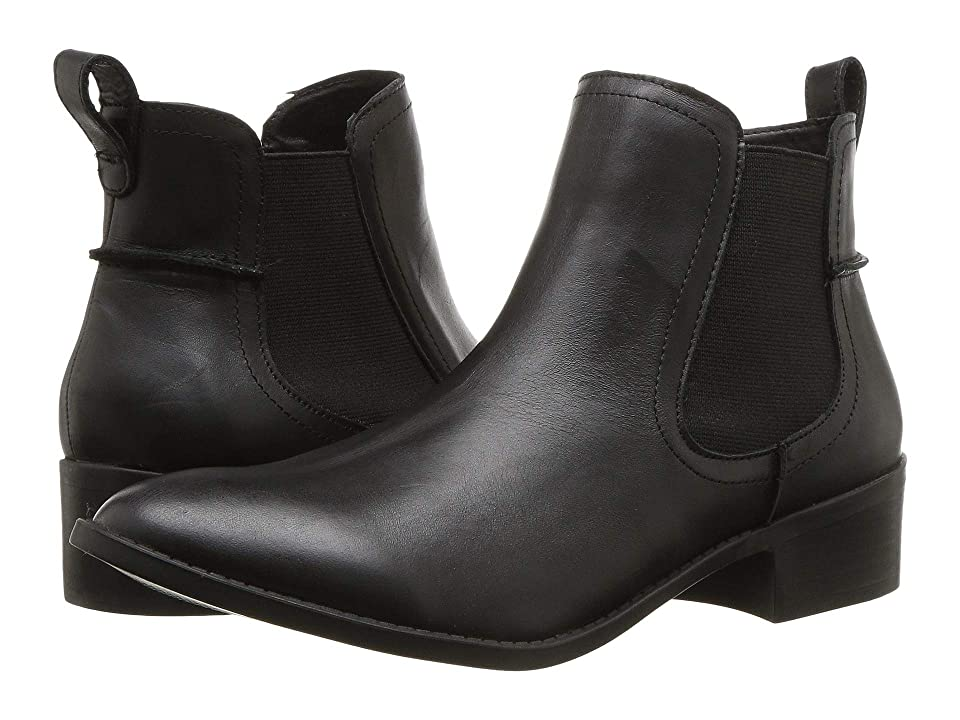 Steve Madden Darin (Black Leather) Women