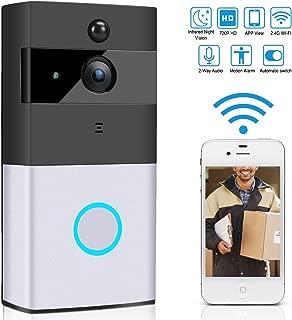 Bomcomi Wi-Fi Inteligente de vídeo Portero automático inalámbrico PIR visión Nocturna Timbre Android iOS Inteligente Sistema de intercomunicación Inicio