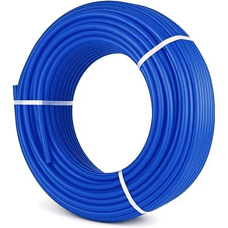 1//2 in PEX Pipe 300ft Tubing PEX-B Plumbing Tube for Radiant Floor Heating