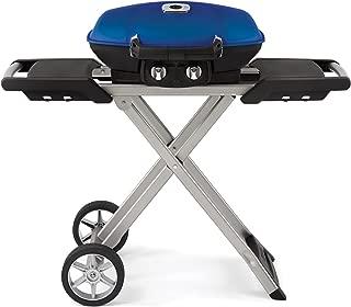 Napoleon TQ285X-BL Portable Propane Grill with Cart, Blue