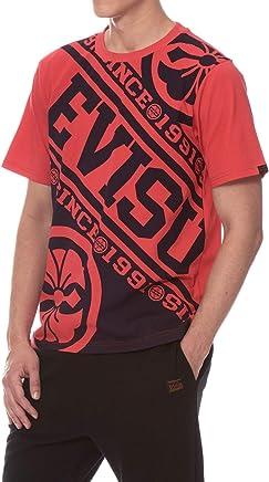 771701877127 Evisu Bold Kamon and Logo Print T-Shirt