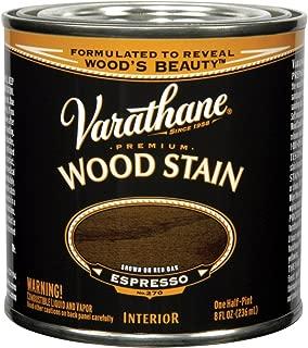 Varathane 241414 Premium Wood Stain, Half Pint, Espresso