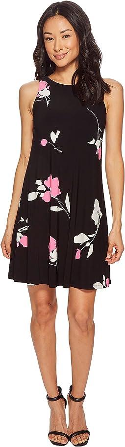 LAUREN Ralph Lauren - Petite Suzan Brunette Park Floral Dress