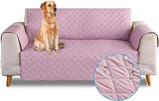 comprar comparacion PETCUTE Sofa Fundas de sillones Impermeable Cubre sillones Fundas para sillones Fundas de Sofa 1 Plaza para Perros Gatos R...