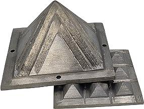 "Plusvalue Ishanya Zinc Pyramid for North East Kitchen Toilet Bedroom Cut Vastu Dosh Remedies Correction 2.5"""
