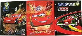 Disney Cars 3 Folder Set ~ Francesco, Flaming McQueen, Out of Darkness
