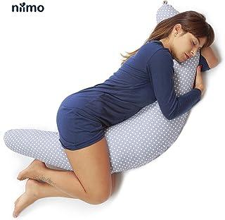 Niimo Almohada Embarazada Dormir y Cojin Lactancia Bebe