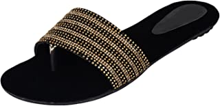 Do Bhai Women's Flat Sandal