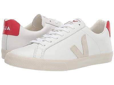 VEJA Esplar Logo (Extra White/Natural/Pekin Leather) Shoes