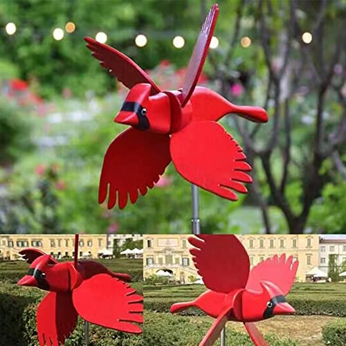 wholesale Wind outlet sale Spinners for Yard Garden Bird Spinner Pinwheels Decor Garden Sculptures & Statues Bird Stakes Decoration Outdoor Lawn Decorative lowest Yard Decor Patio Windmills Gardening Art Garden Bird Decor outlet sale