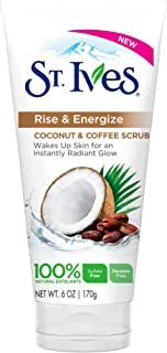 St. Ives Rise and Energize Coconut and Coffee Scrub, 170g