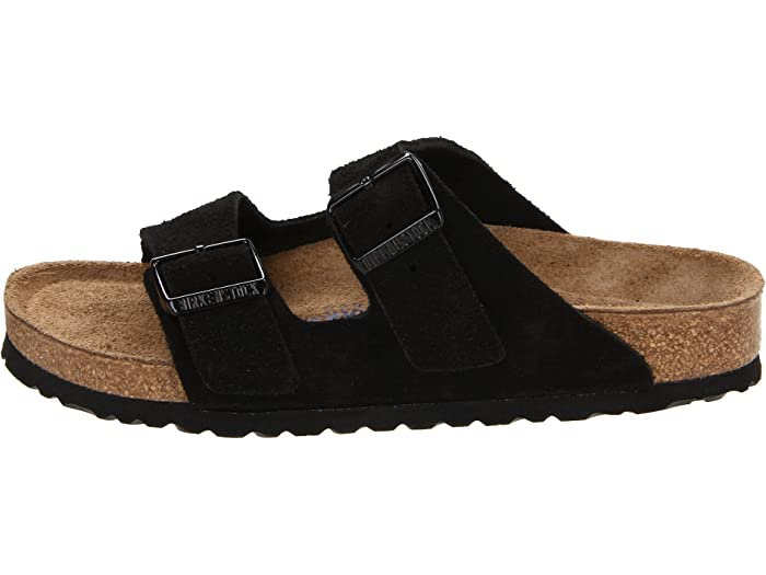 black velvet birkenstocks
